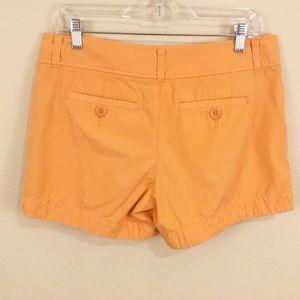 Lilly Pulitzer Shorts - Lily Pulitzer Orange Cotton Shorts Sz 8